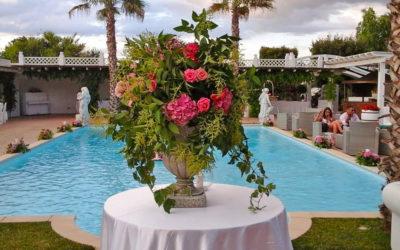 I fiori per il matrimonio a giugno, luglio e agosto