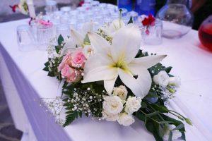 centrotavola matrimonio fiore